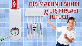 Diş Macunu Sıkma Aleti ve Fırça Tutucu tutyakala.com