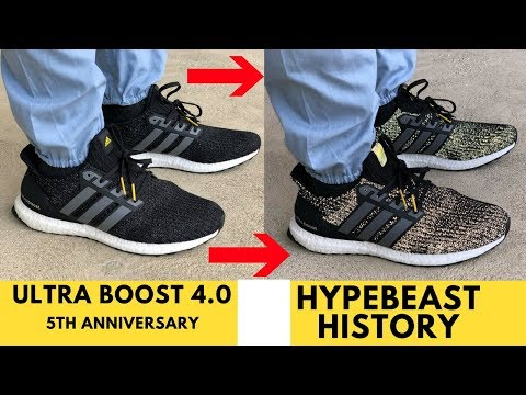 fed8f6ebe4e Ultra Boost 4.0 5th year Boost Anniversary History