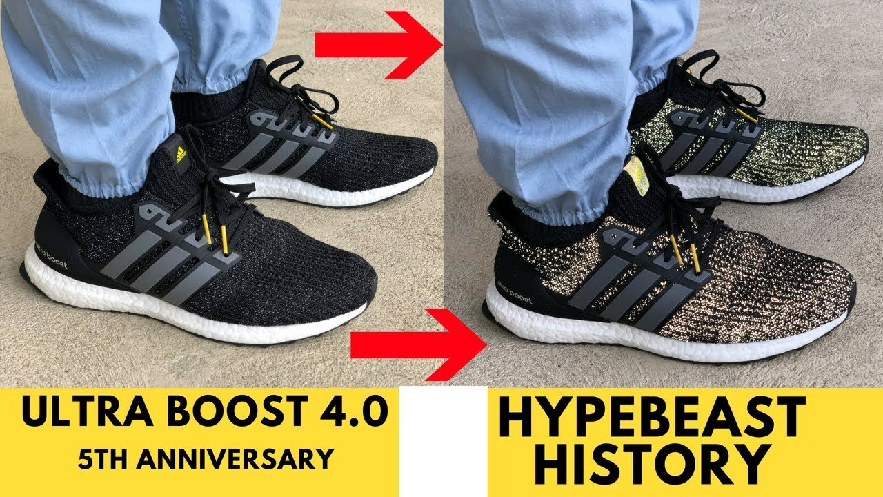 3be9b47332d36 Ultra Boost 4.0 5th year Boost Anniversary History