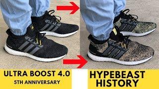 adidas ultra boost history