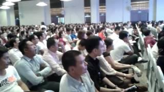 DONG SPEED tham dự hội thảo ONECOIN hơn 3.000 người tham dự.
