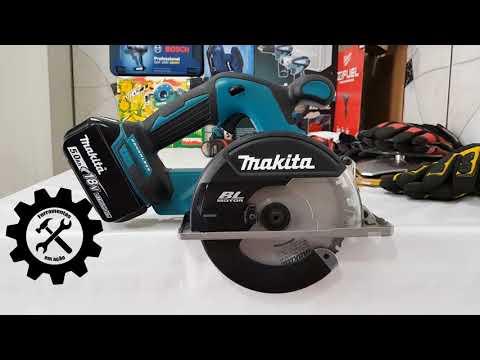 Cortadora de Metal Makita a Bateria 18v DCS551 - REVIEW E TESTE
