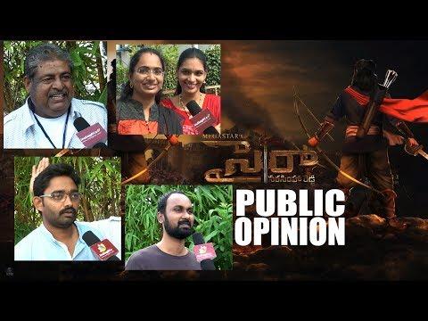 SYE RAA NARASIMHA REDDY public opinion    #Chiranjeevi    #SyeRaaNarasimhaReddy    #Chiru151