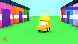 HIDING CARS! - Cartoon Cars - Cartoons for Children - Videos for Kids