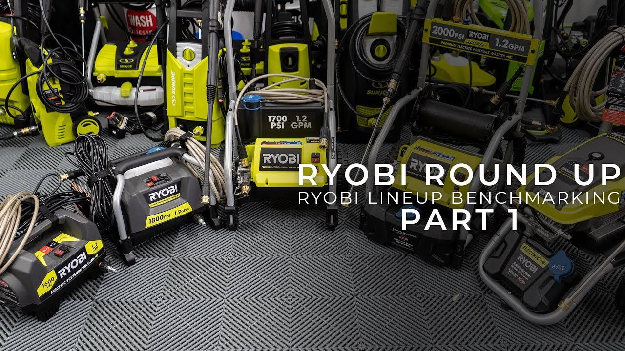 The Best Ryobi Pressure Washer - Updated Reviews for 2019