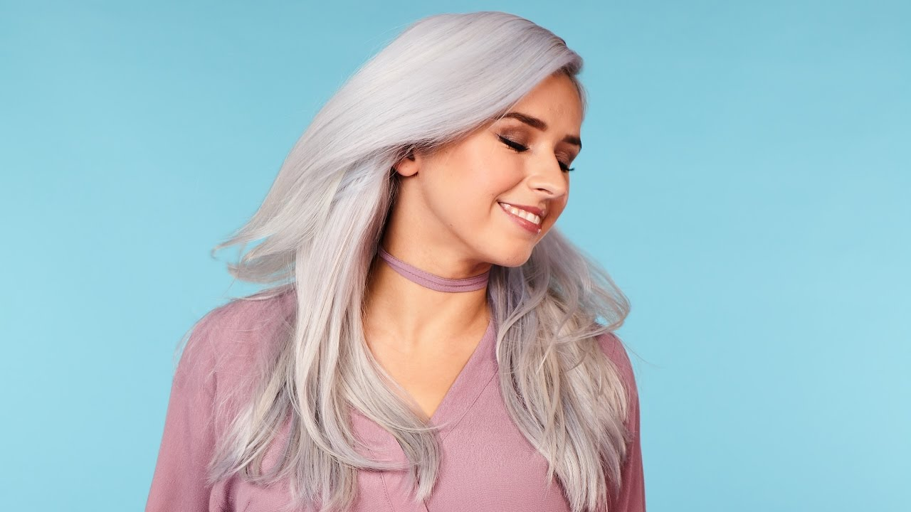 How to get Silver Hair Tutorial | Schwarzkopf LIVE Colour - YouTube