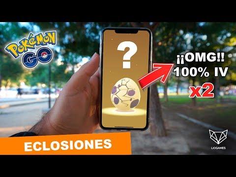 ECLOSIONO 2 POKEMON 100% IV A LA VEZ - Pokemon Go [LioGames] thumbnail