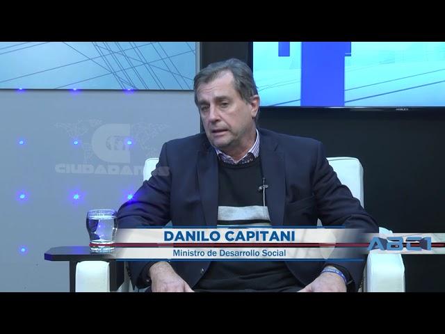 (Adelanto) Danilo Capitani - ministro de Desarrollo Social sobre el escenario electoral