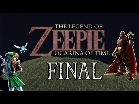 Let's Play TLOZ Ocarina Of Time Part 45 FINALE