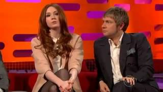 The Graham Norton Show S10x11 Gerard Butler, Karen Gillan, Martin Freeman Part 2  YouTube