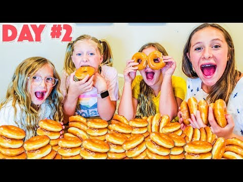THE LAST TO STOP EATING DONUTS WINS Challenge!!! The Shumway Show