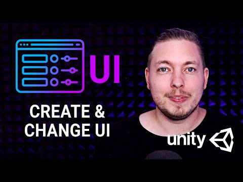 HOW TO CREATE A GAME UI IN UNITY 🎮 | Create and Change Your UI in Unity | Unity Tutorial