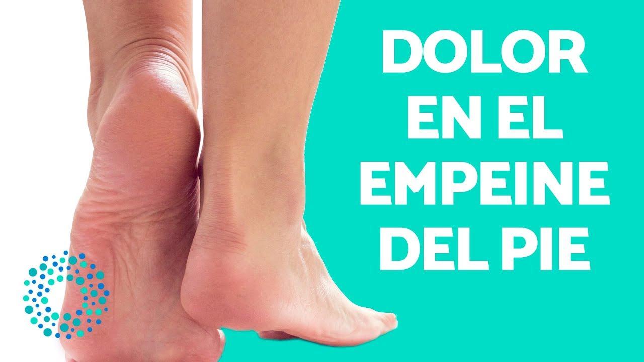 Los en tratamiento pies de dolor