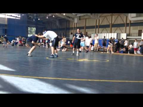 Naval Academy Wrestling Camp Part 1