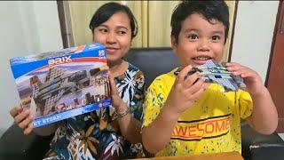 Zefa dan Mama Unboxing LEGO Pesawat ❤