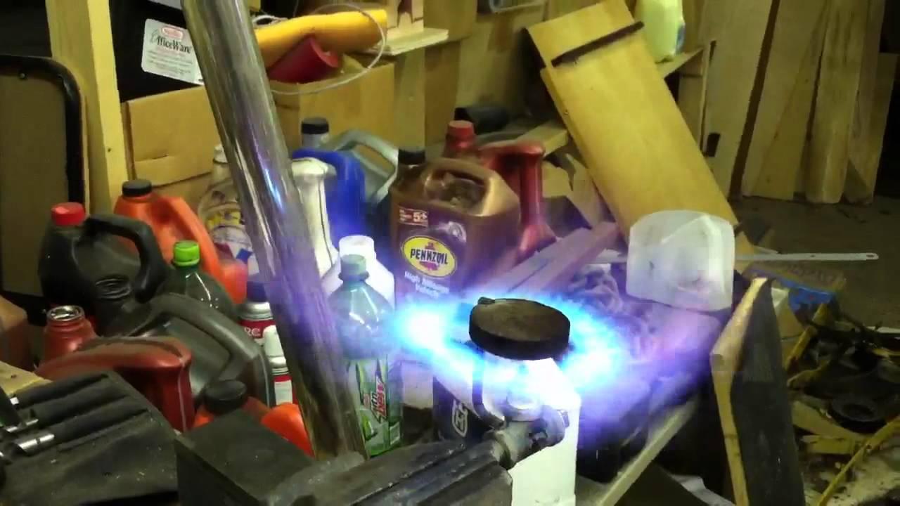 Homemade Propane Burner 2 Youtube