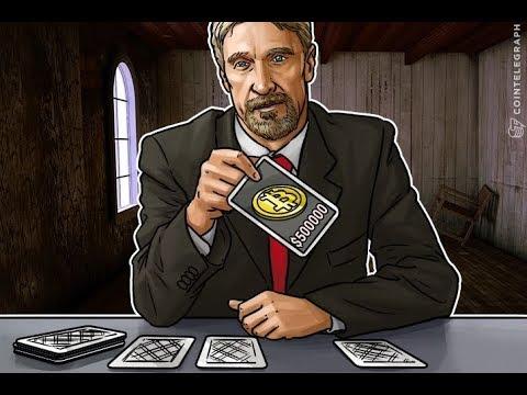 John McAfee on China & Bitcoin