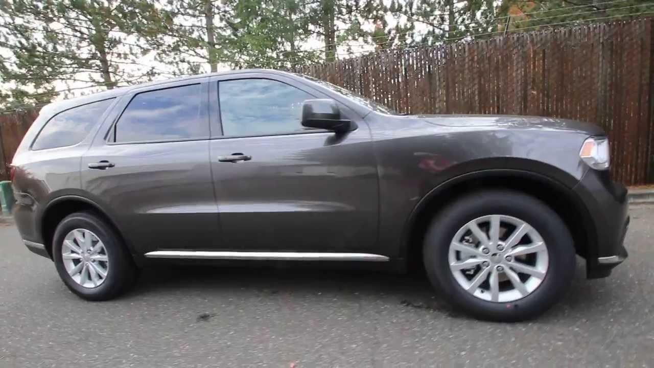 Ec277888 2014 Dodge Durango Sxt Kirklanddcj Granite