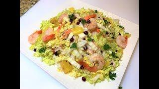 Лёгкий Салат СТРЕЛЫ АМУРА. Лучший Способ Поднять Настроение! КОНКУРС  Seafood Salad.