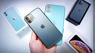 [ENG SUB] 미쳐버린 실물!! 아이폰11/아이폰11 Pro 언빡싱! [디자인/색상/가격/차이점 등]
