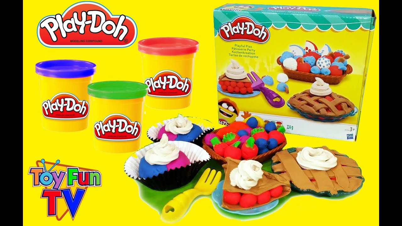 patisserie party play doh