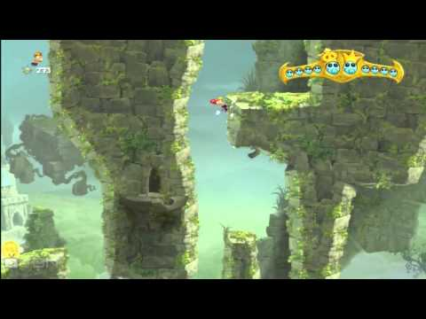 Rayman Legends - Castle in the Clouds - All Teensies