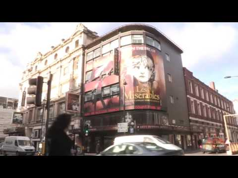 Explore Leicester Square London  Video Travel Guide by Vidtur.com