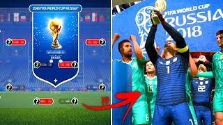FIFA 18 PROPHEZEIT DIE WM 2018 !!! 🏆😳 FIFA 18 WM Modus