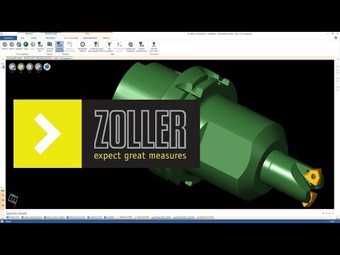 TOOL Data interface | ZOLLER TMS | NCSIMUL Machine