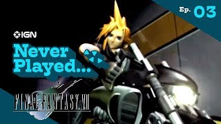 Never Played... Final Fantasy 7 - Episode 3: Shinra Building