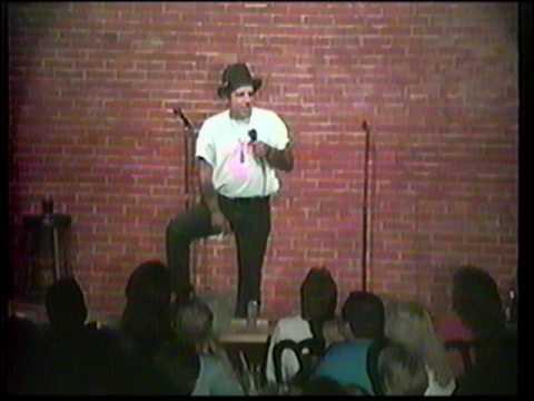 Frankie Bastille at Comedy Caravan 9 -1 -92 ( contains adult language)