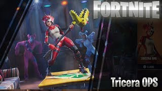 """Fortnite item shop May 21 """"Tricera Ops skin -  l Featured items and daily items"""