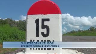 Alibori : visite du préfet aux victimes d'inondation