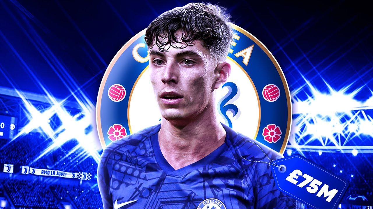 Chelsea To Bid £75M For Kai Havertz!   Transfer Talk - YouTube