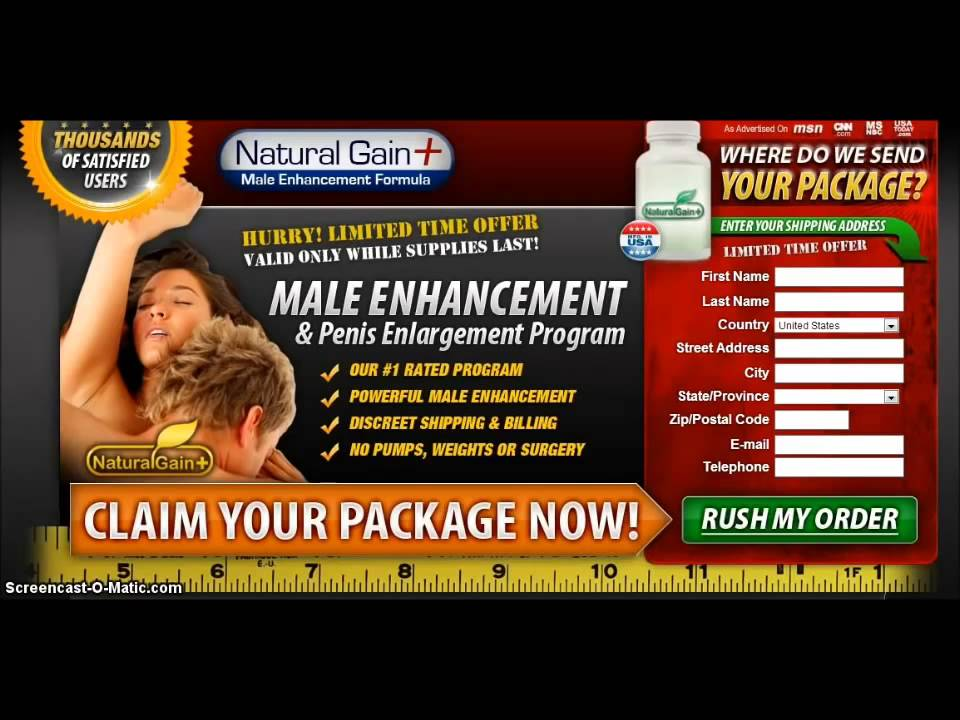 Natural Gain Plus Reviews Youtube