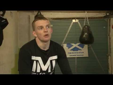 """Boxer Andrew Mackay: """"It all started with the holes in the roof"""""""