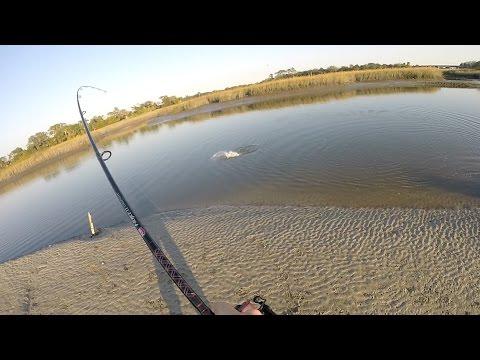 Kayak Fishing JAX, FL. Haulover Hook Ups.