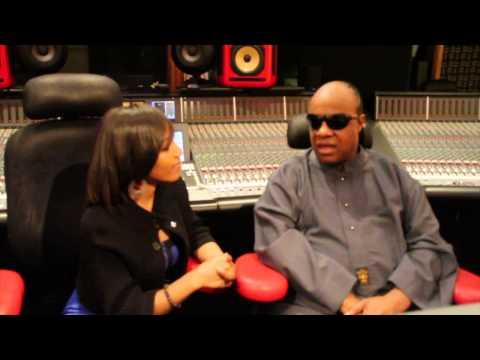 Stevie Wonder interview with Mesha McDaniel - 2013