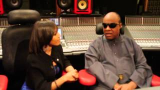 Stevie Wonder interview with Mesha McDaniel - 2013