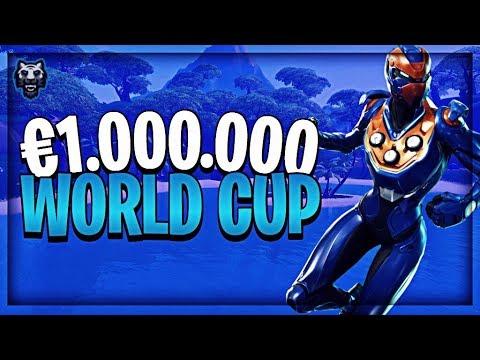 GEKWALIFICEERD voor $1.000.000 Fortnite WORLD CUP FINALS