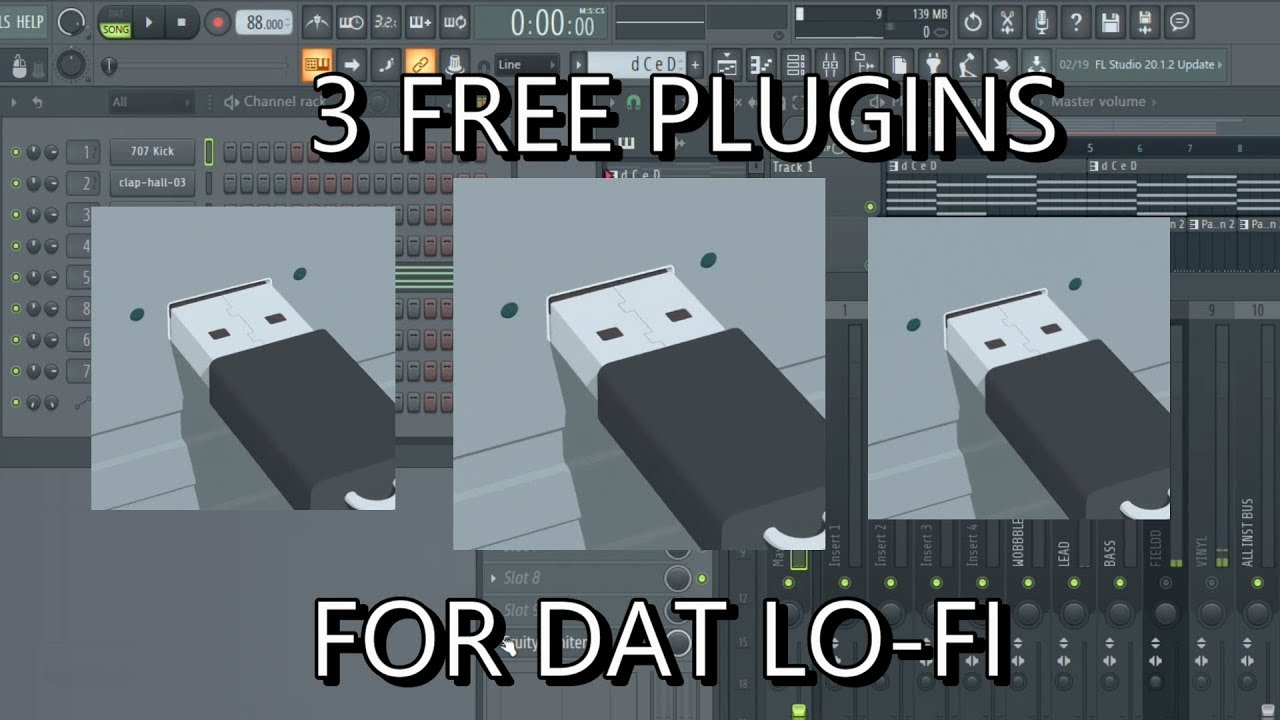 3 FREE PLUGINS TO ENHANCE YOUR LO-FI MUSIC MAKING EXPERIENCE!