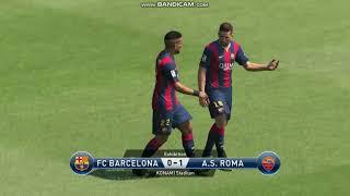 As  roma vs fc barcelona