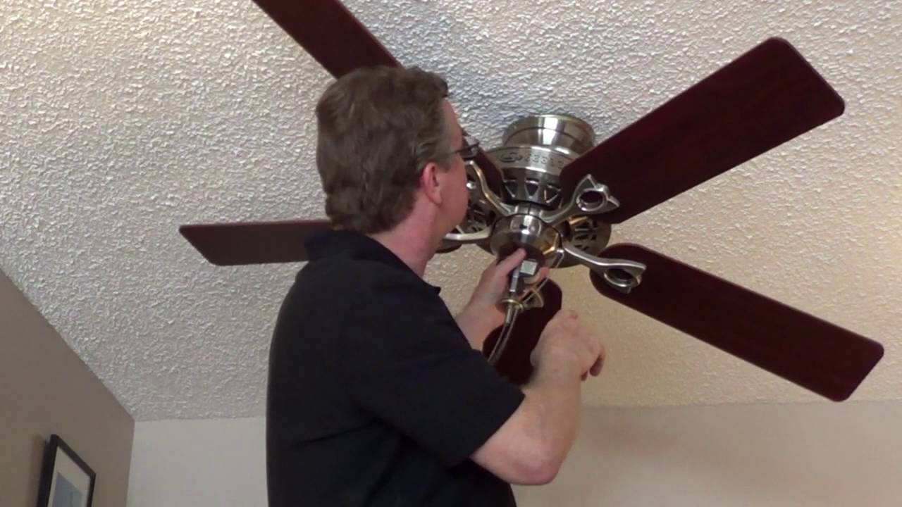 How to Remove a Ceiling Fan - Direct Connect Older Emerson Ceiling Fan Wiring Diagram on