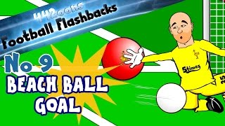 ⚽️The Beach Ball CONSPIRACY⚽️ Sunderland vs Liverpool! Football Flashback No 9 (football cartoon)
