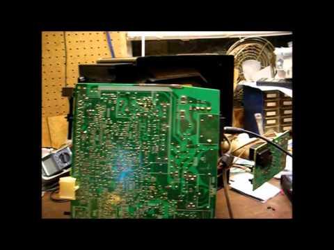 Repair Of A Sony Kv1365 13 U0026quot  Trinitron Color Tv Due To No Audio