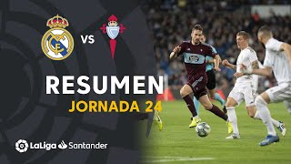 Resumen de Real Madrid vs RC Celta (2-2)