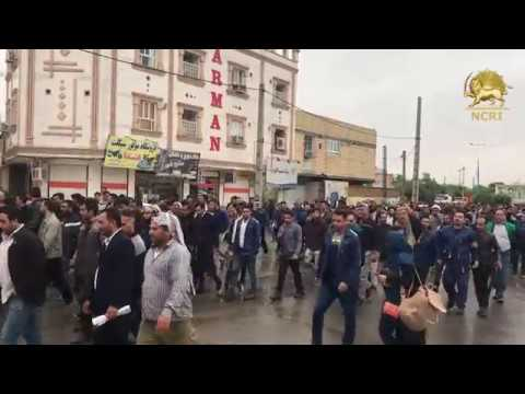 Iran: The 11th Day of the Strike of the Hardworking and Brave Workers of Haft Tappeh Sugar Cane Mill