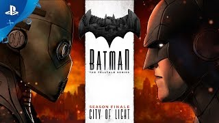 BATMAN - The Telltale Series: Episode 5 - City of Light Trailer | PS4, PS3