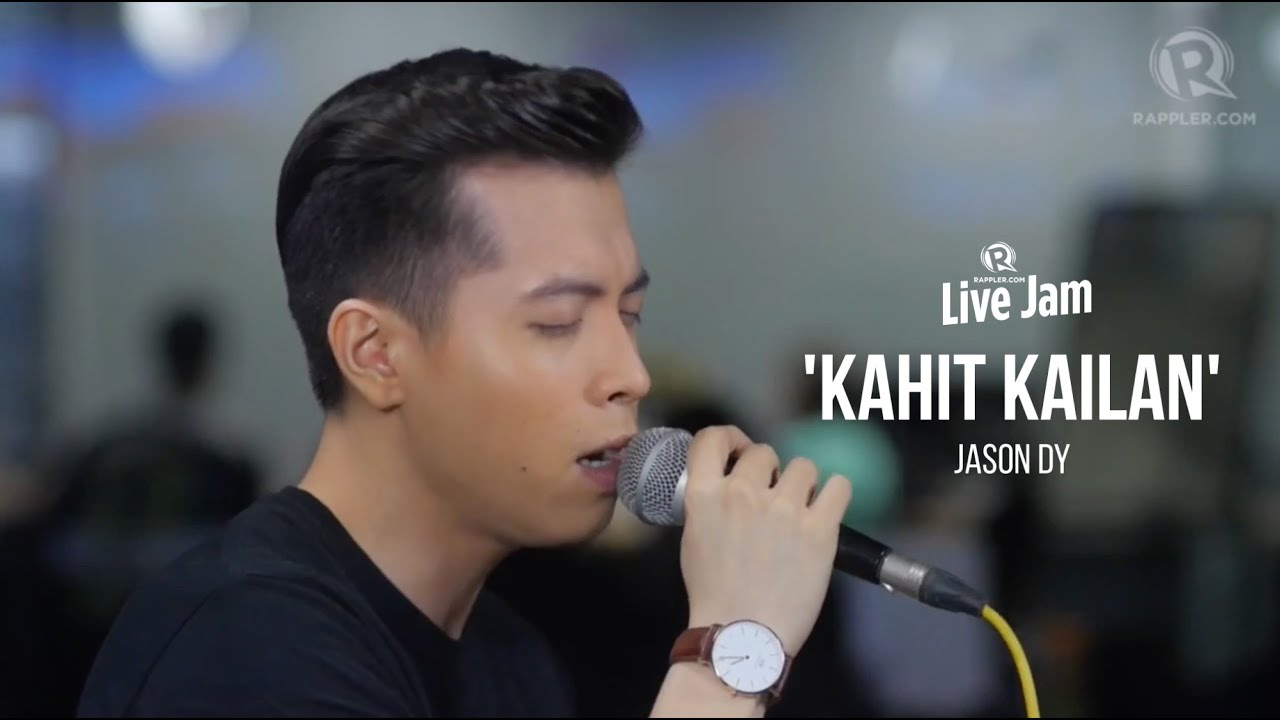 Rappler Live Jam: Jason Dy – 'Kahit Kailan' (South Border cover)