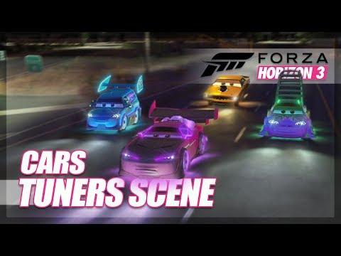Forza Horizon 3 - Cars Tuners/Ricers Scene (Attempt + Mini Game)